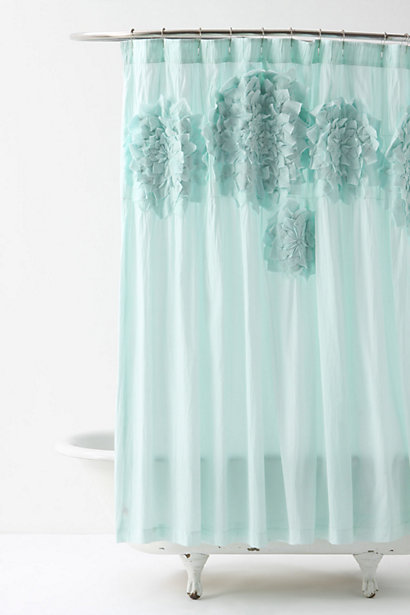 Curtains Ideas anthropology shower curtain : Colour trend… Turquoise | Candana
